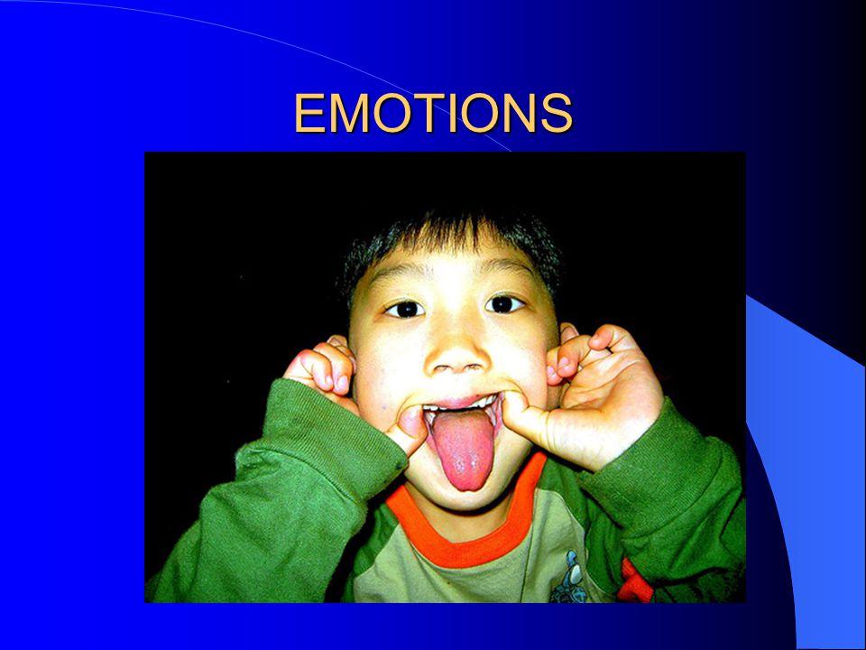 EMOTIONS OUTWARD INWARD violence ANGER suicide violence ANGER suicide Hurt, Fear, Surprise