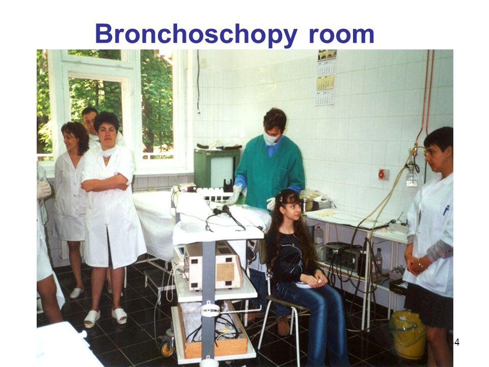 34 Bronchoschopy room