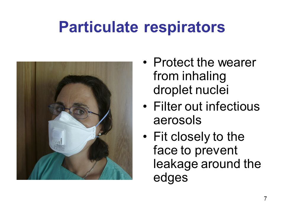 28 Quantitative fit tests: Measure the amount of leakage into the respirator to assess the adequacy of respirator fit Are scored with a number