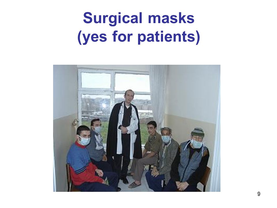 10 Surgical masks do not protect staff from TB