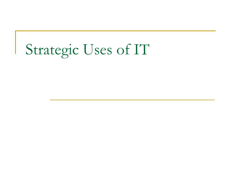 1111 1111 3333 3333 2222 2222 Strategic Use of IT in Business Emerging Network Business Models Introduction