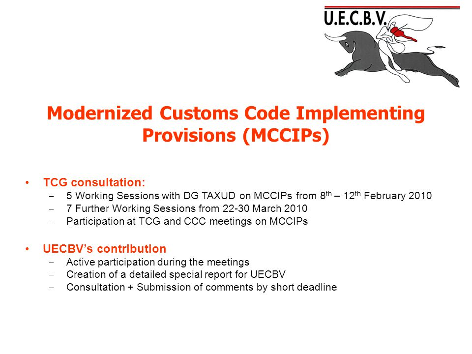 Modernized Customs Code Implementing Provisions (MCCIPs) TITLE III Customs Debt and Guarantees
