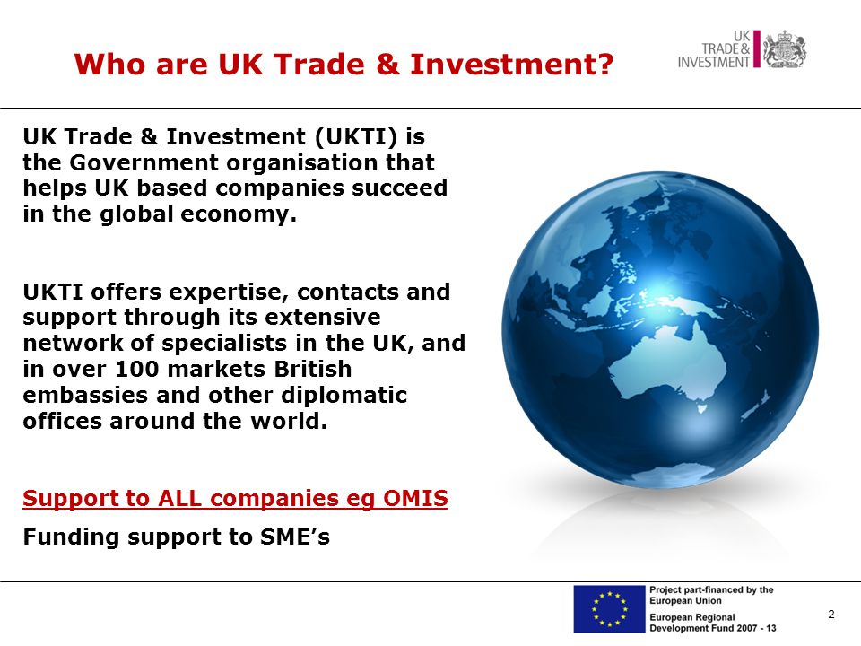 2 Who are UK Trade & Investment.