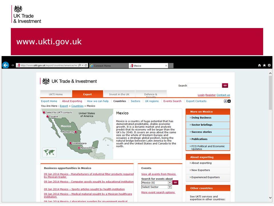 10 www.ukti.gov.uk