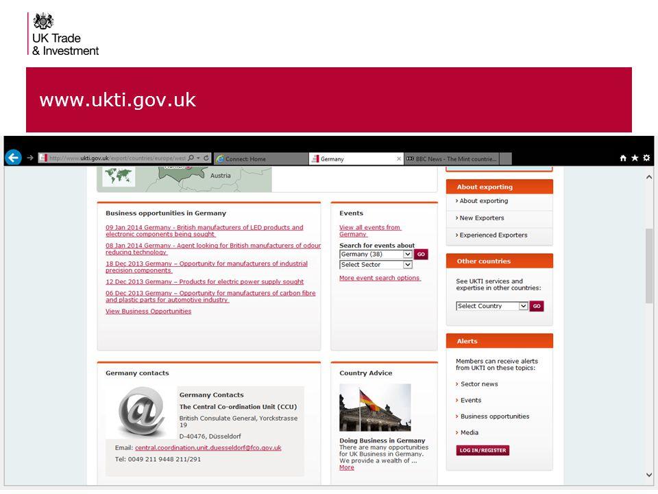 12 www.ukti.gov.uk