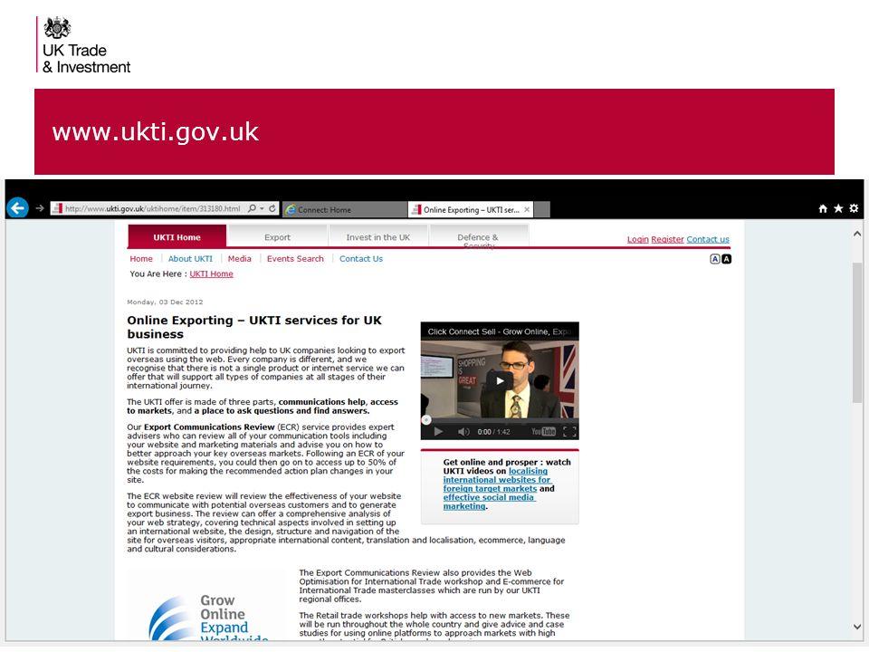 88 www.ukti.gov.uk