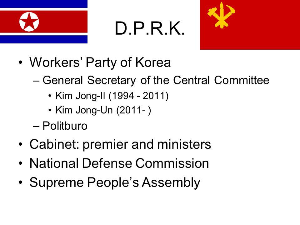 D.P.R.K.