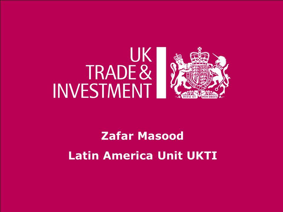 Zafar Masood Latin America Unit UKTI
