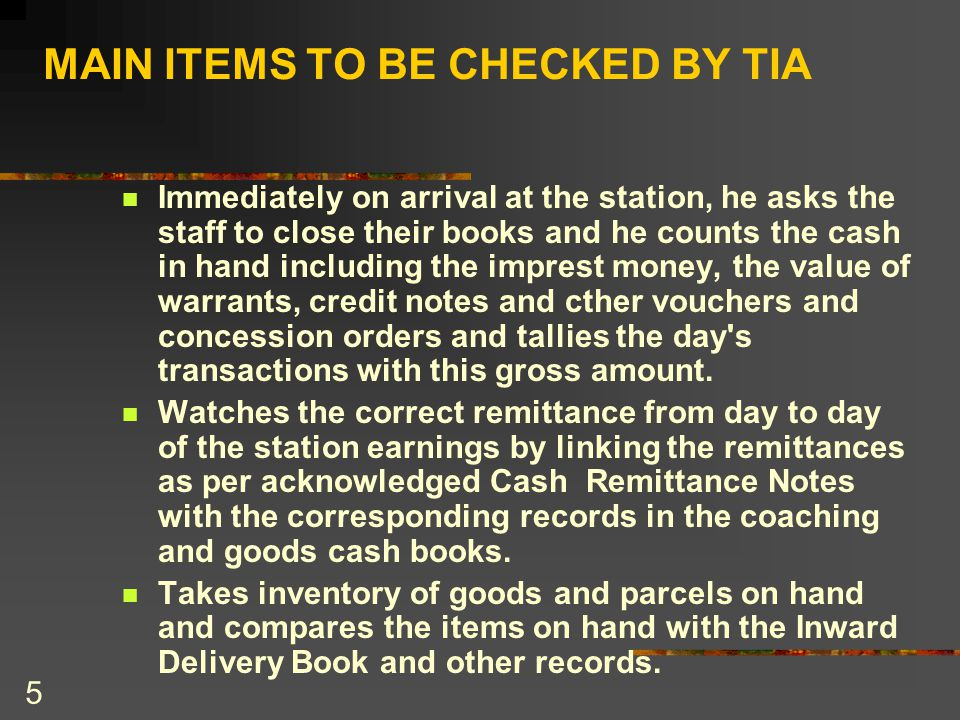 16 CONT; Inward To-pay goods or parcels accounted for as Paid .