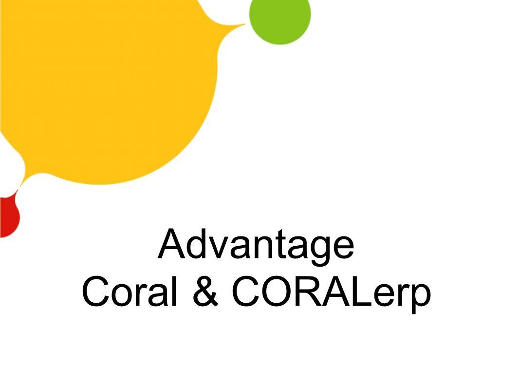 Advantage Coral & CORALerp