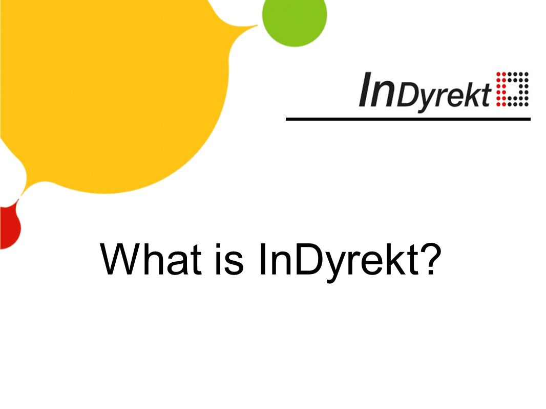 What is InDyrekt