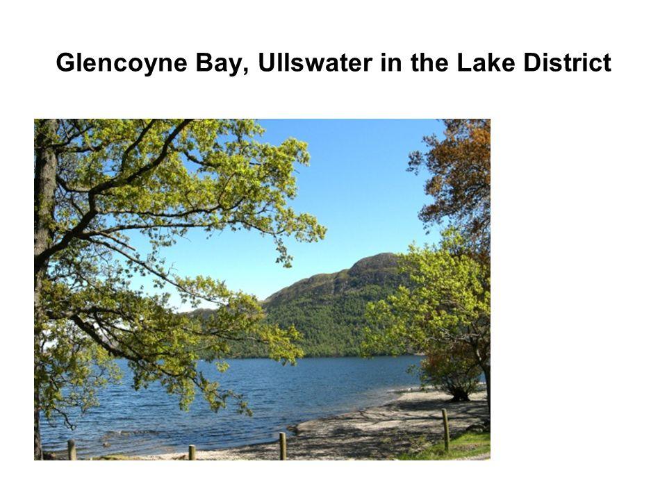Glencoyne Bay, Ullswater in the Lake District