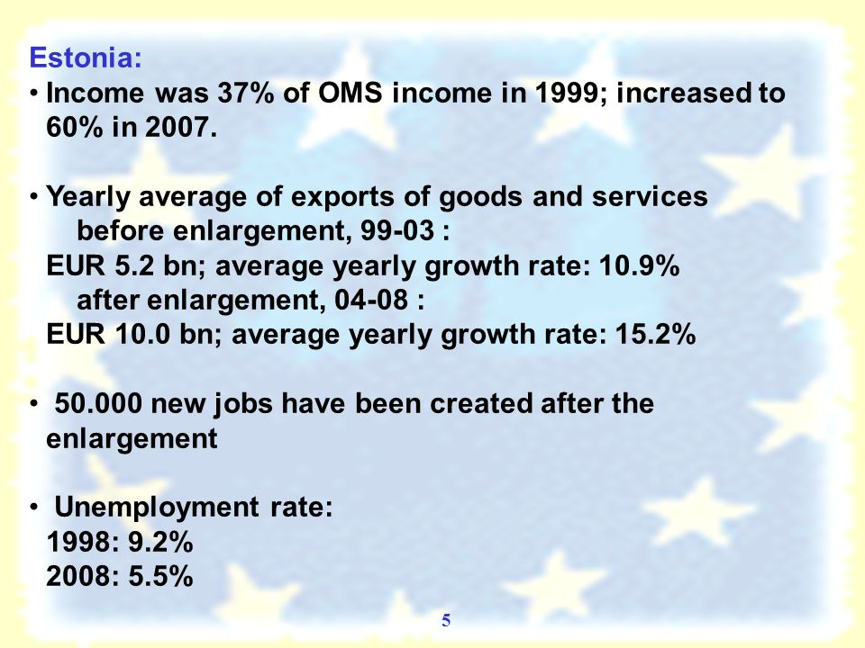 4 Economic Achievements – NMS: Considerable catching-up and improved living standards ?