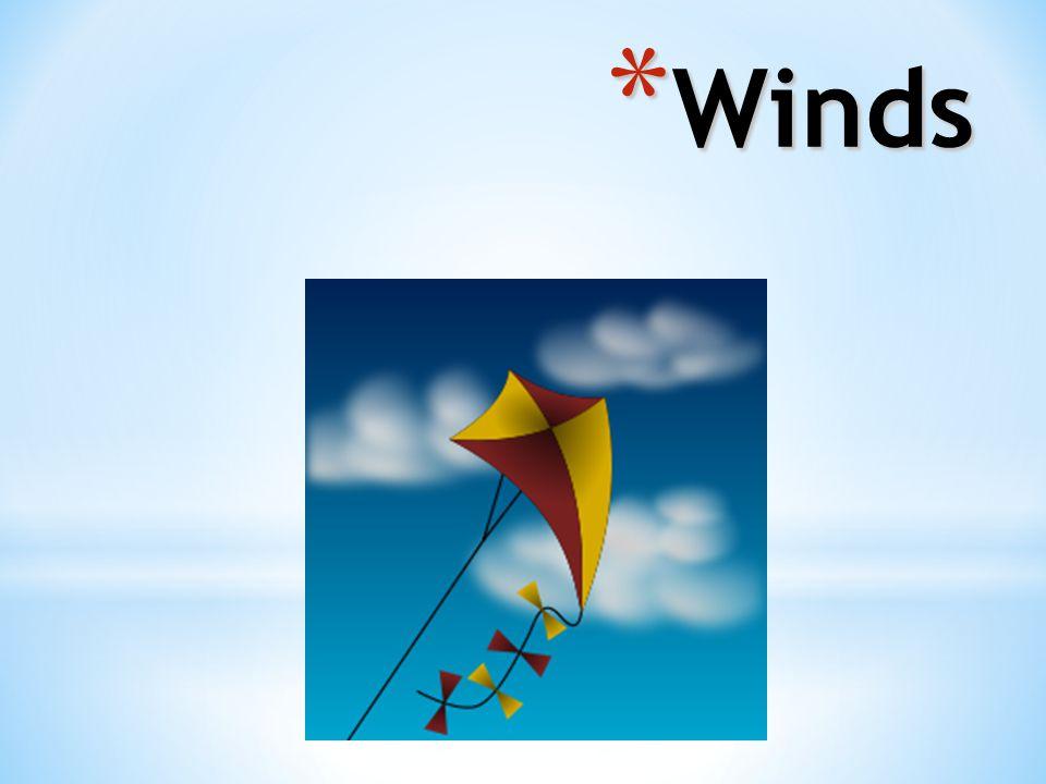 * Winds