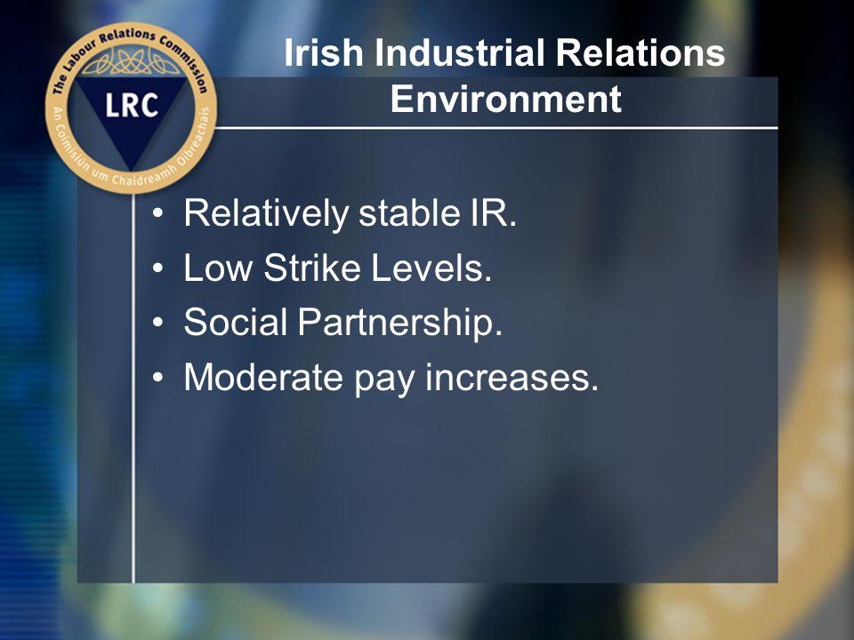 Irish Industrial Relations Institutions LRC.Labour Court.