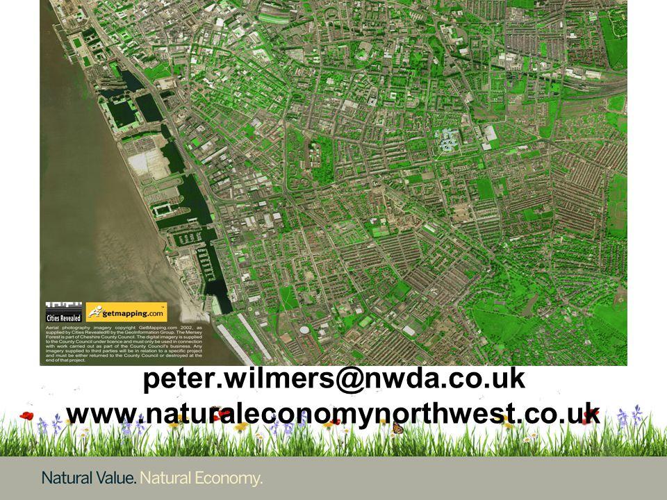 peter.wilmers@nwda.co.uk www.naturaleconomynorthwest.co.uk