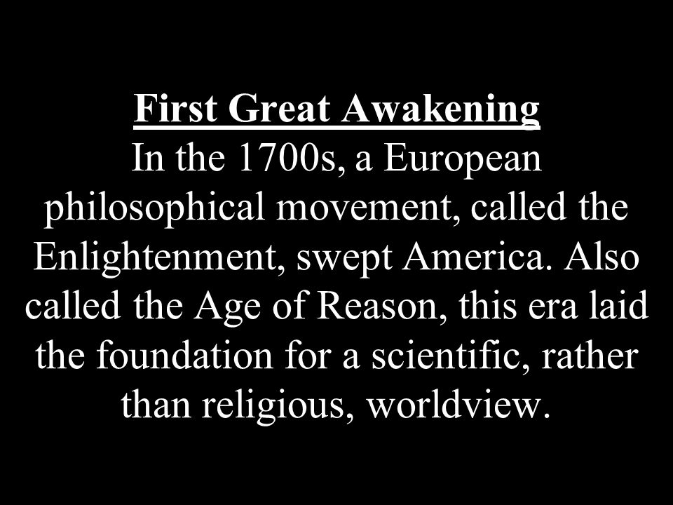 How did the first Great Awakening help pave the way for the American Revolution.