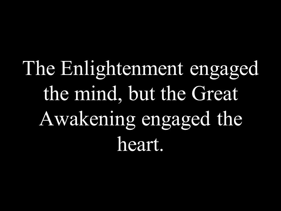 What did the Awakening share with the Enlightenment.