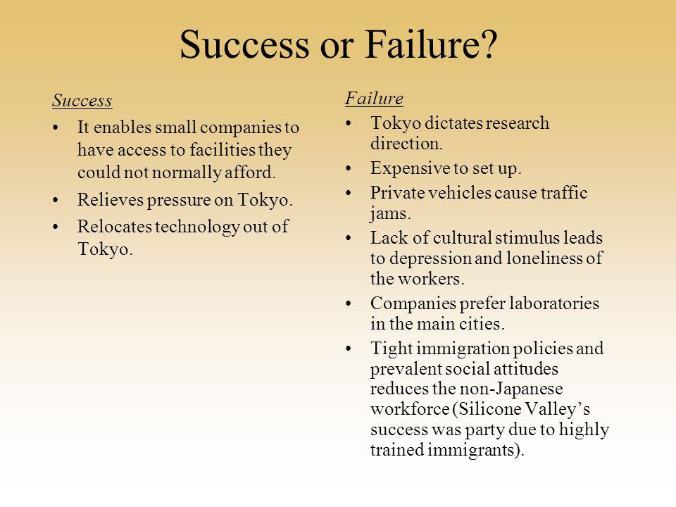 Success or Failure.