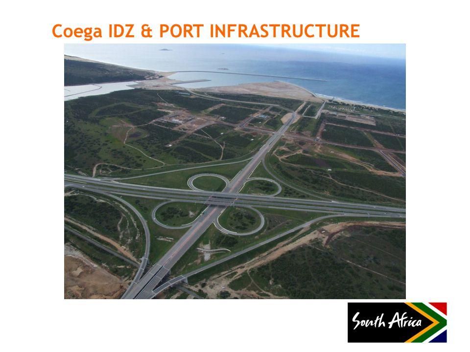 Coega IDZ & PORT INFRASTRUCTURE