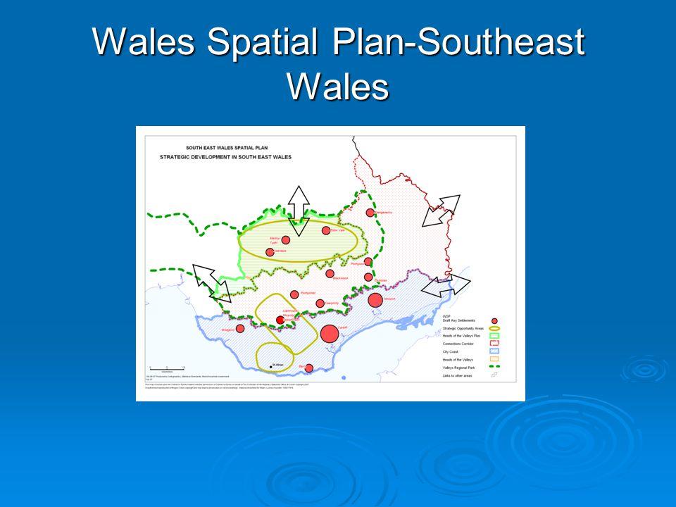 Wales Spatial Plan-Southeast Wales