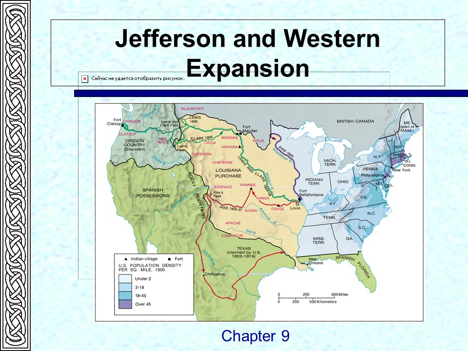 Jefferson and Western Expansion Chapter 9