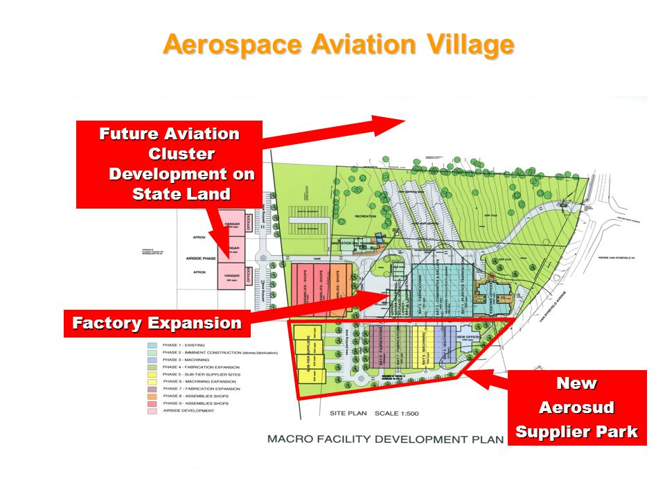 40 Aerospace Aviation Village NewAerosud Supplier Park Factory Expansion Future Aviation Cluster Development on State Land