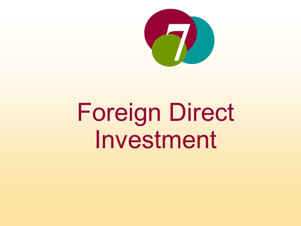 Foreign Direct Investment Limitations of Exporting The viability of an exporting strategy can be constrained by transportation costs and trade barriers Foreign direct investment may be undertaken as a response to actual or threatened trade barriers such as import tariffs or quotas