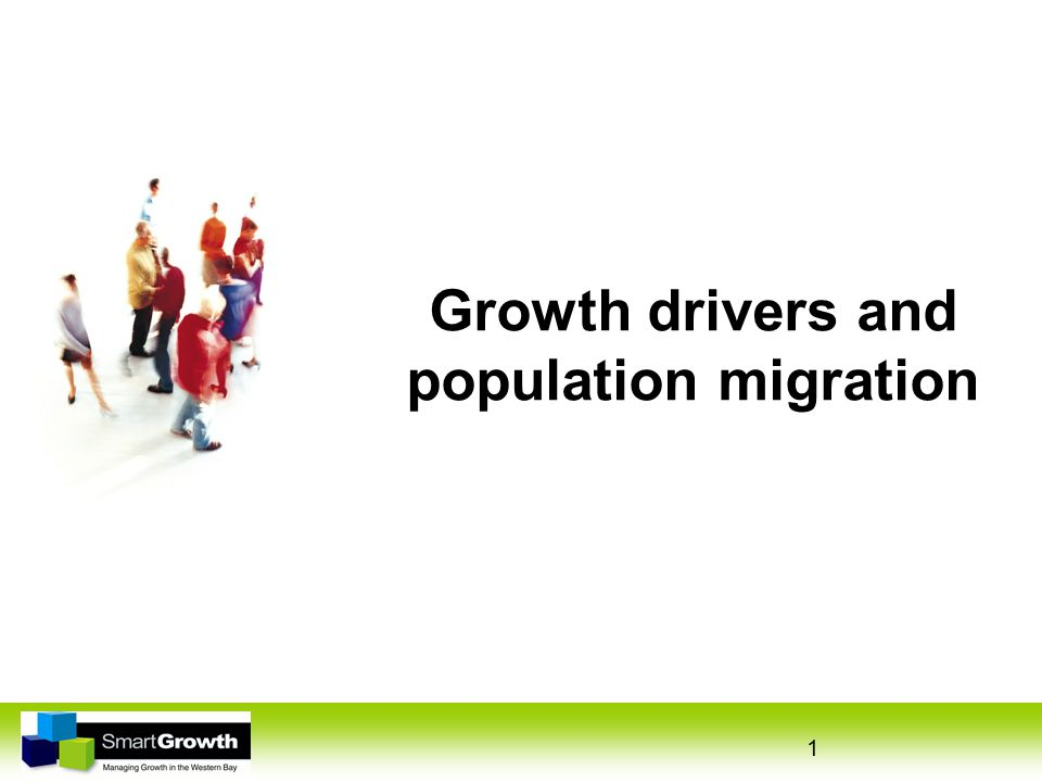 1 Growth drivers and population migration