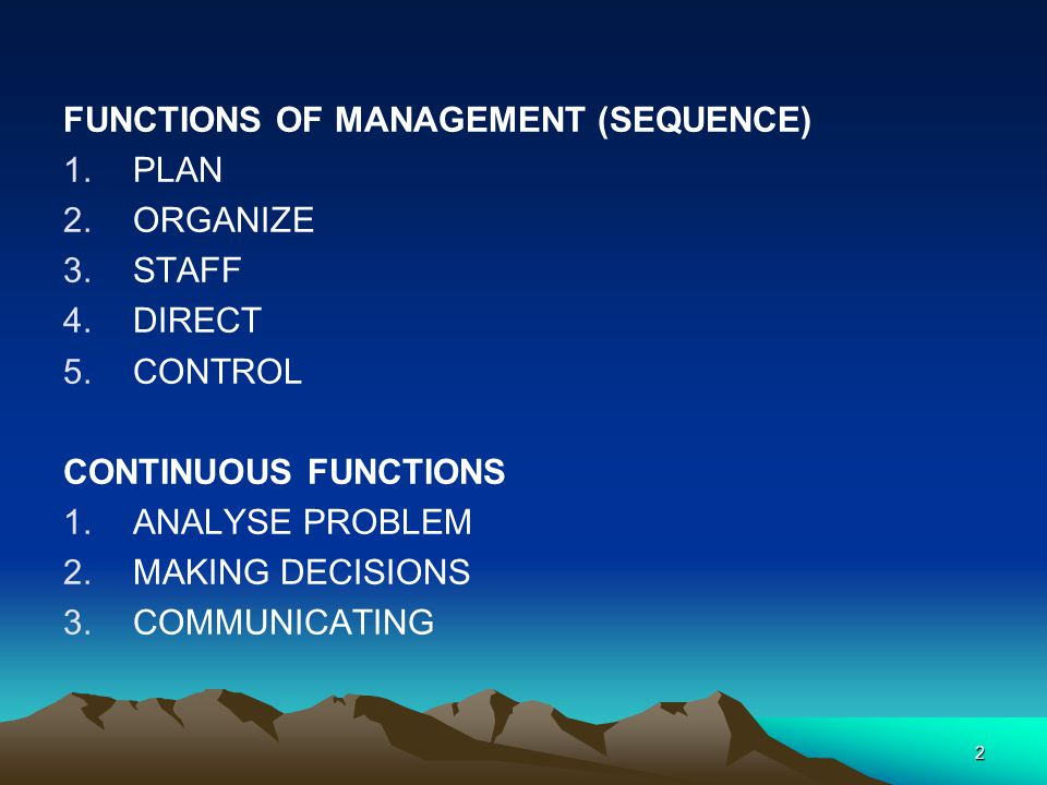 Manager (Administrator, Director) Leadership style Leads by defining goals and organising systems and resources for achieving them.