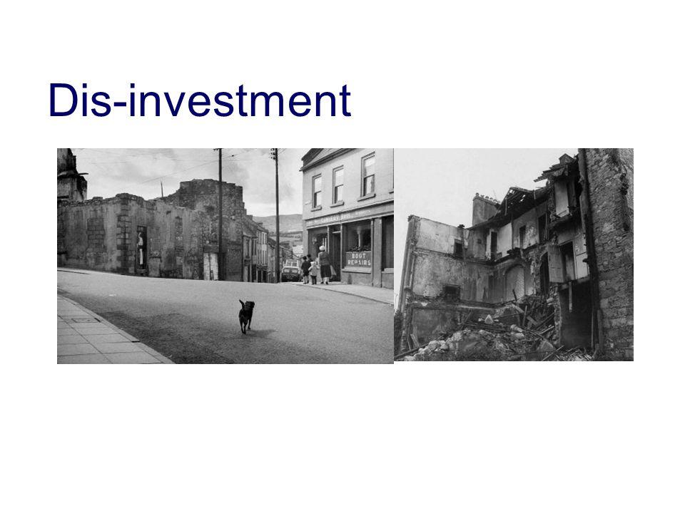 Dis-investment