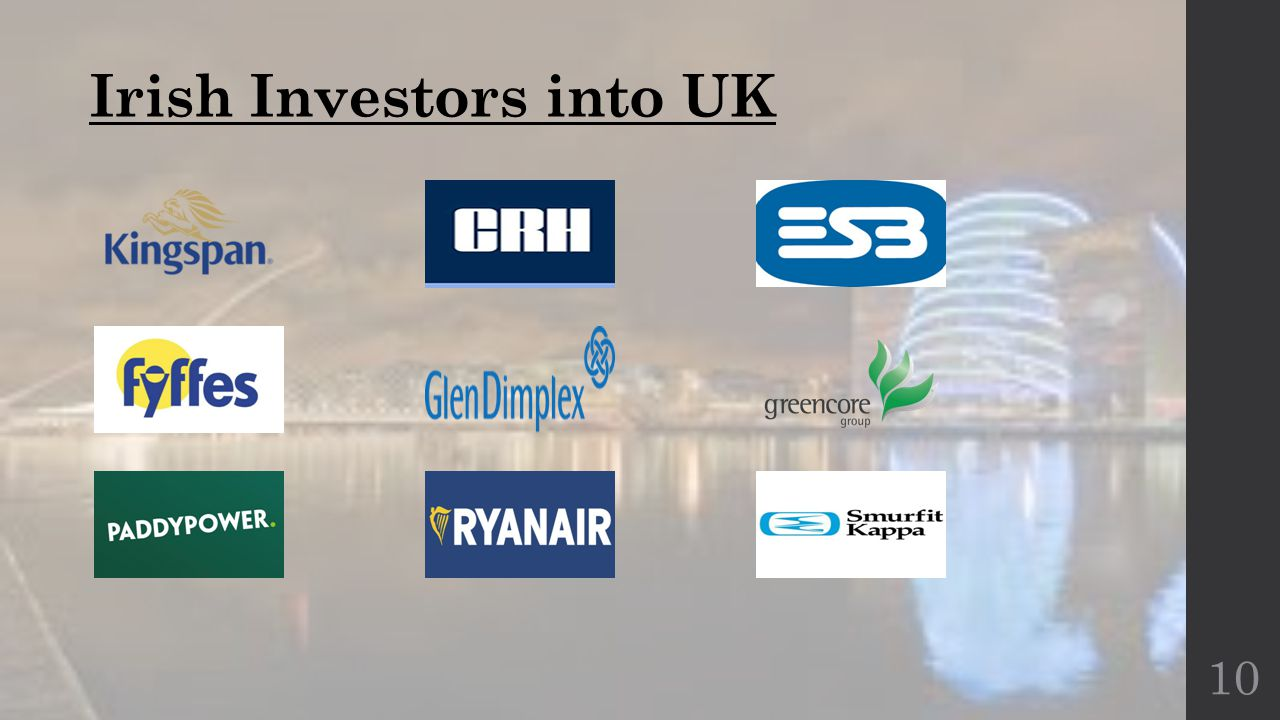 Irish Investors into UK 10