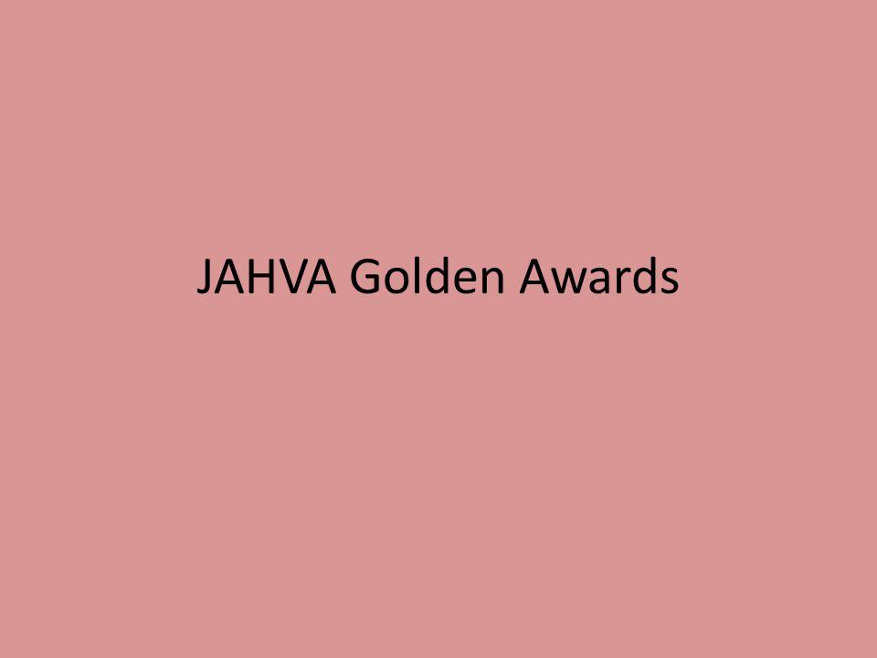 JAHVA Golden Awards