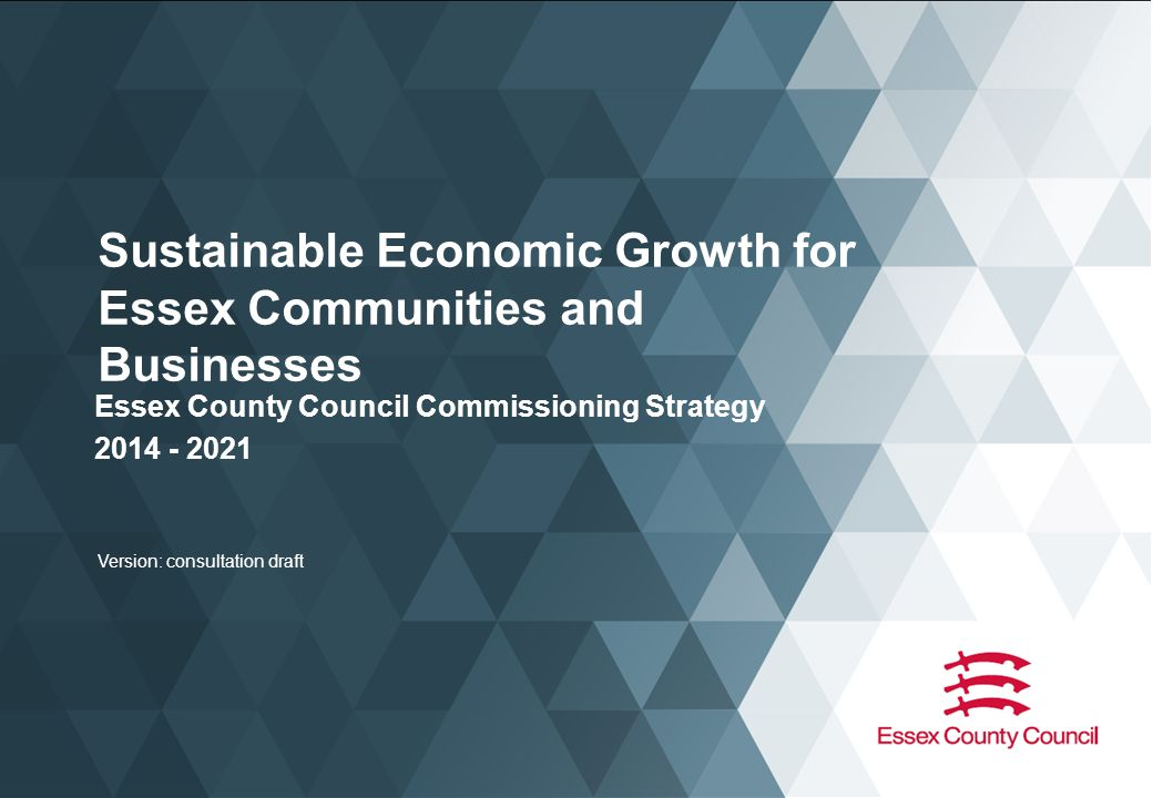 Strategic Actions (9 of 10) Connectivity (Commissioning & Influencing) Connectivity is vitally important to our residents and also to our ability to attract businesses to locate in Essex.