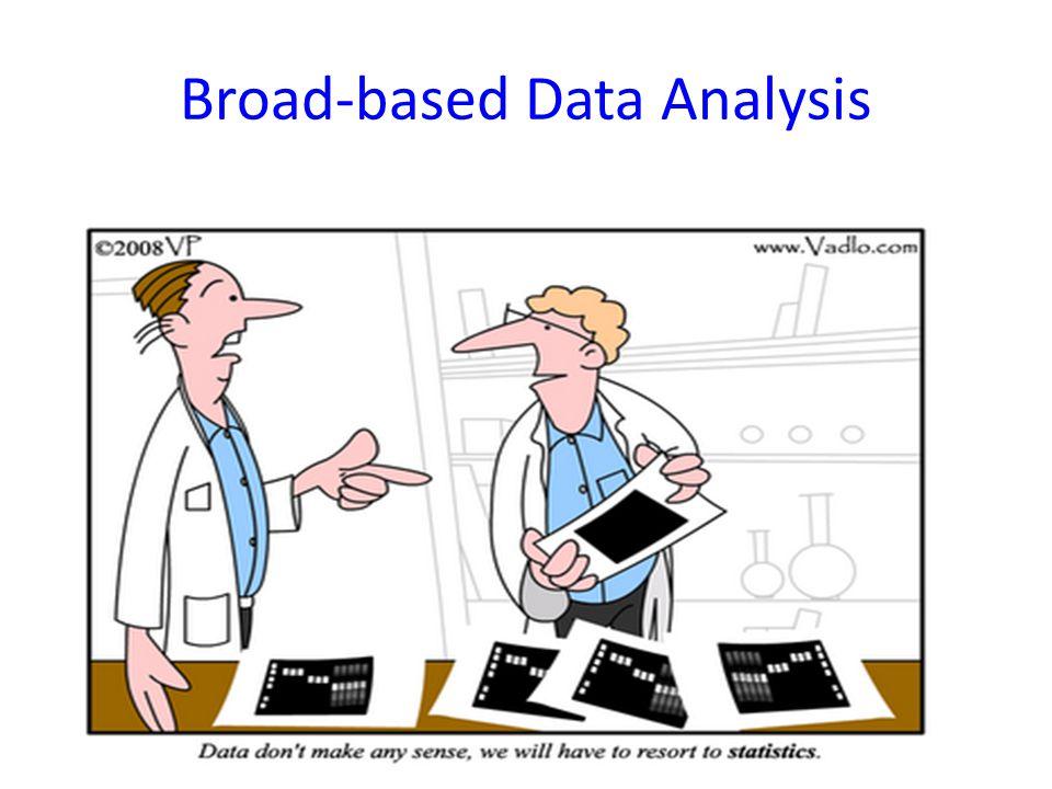 Broad-based Data Analysis