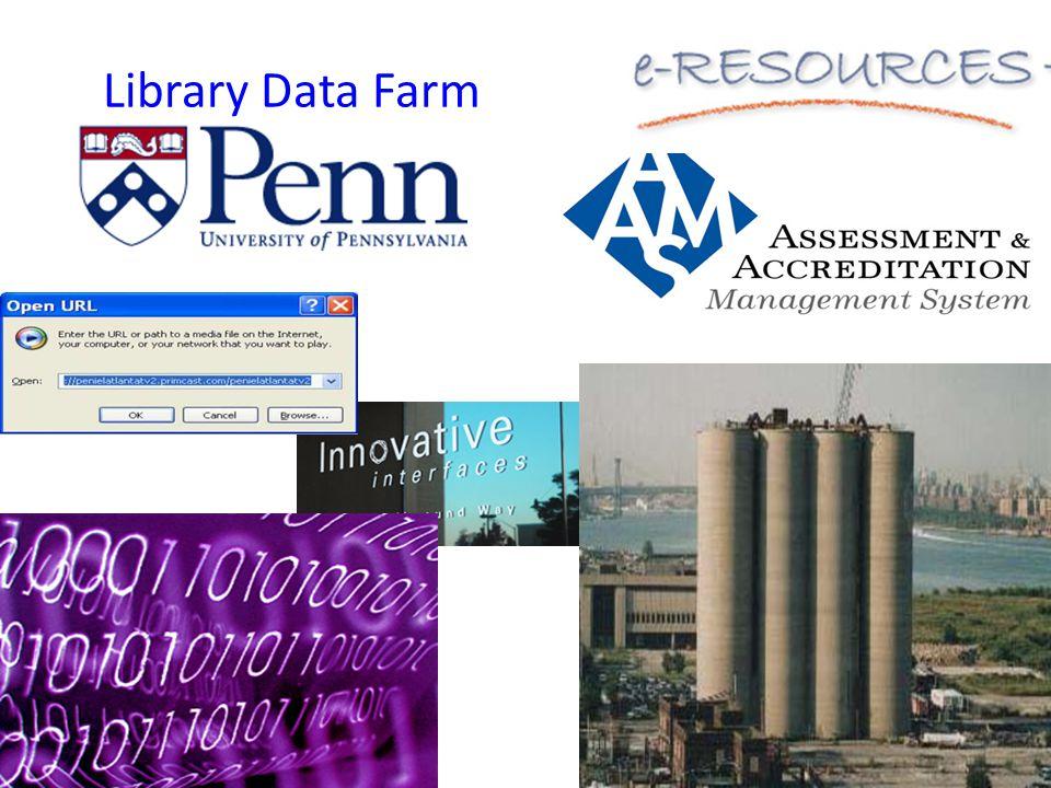 Library Data Farm