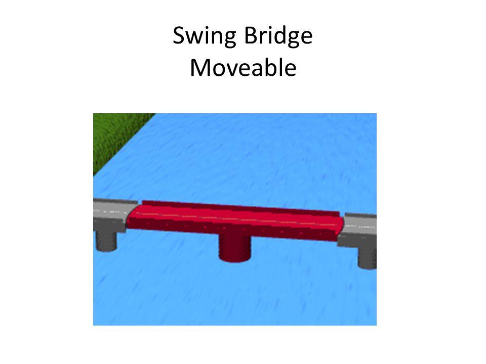 Swing Bridge Moveable