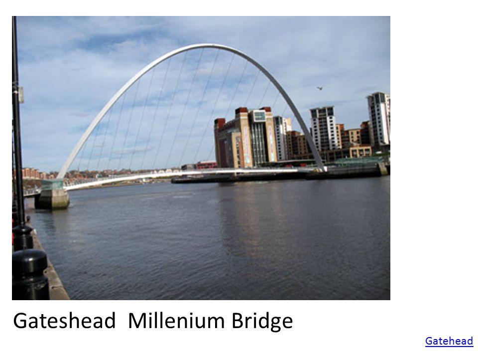 Gatehead Gateshead Millenium Bridge