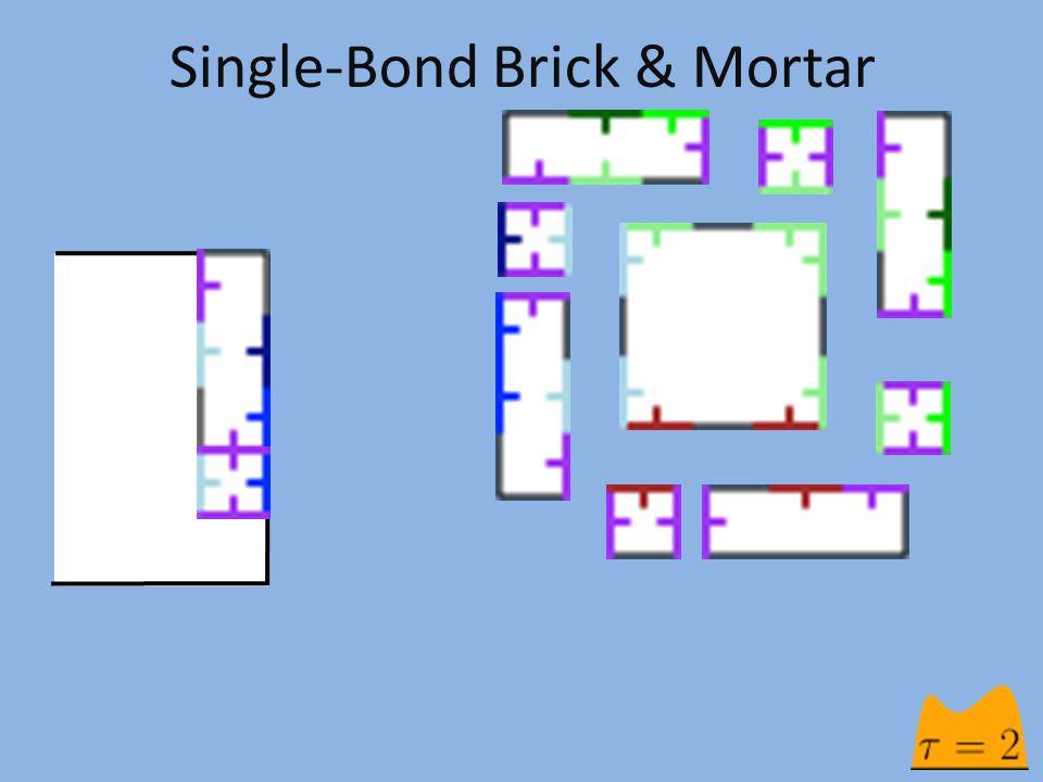 Single-Bond Brick & Mortar