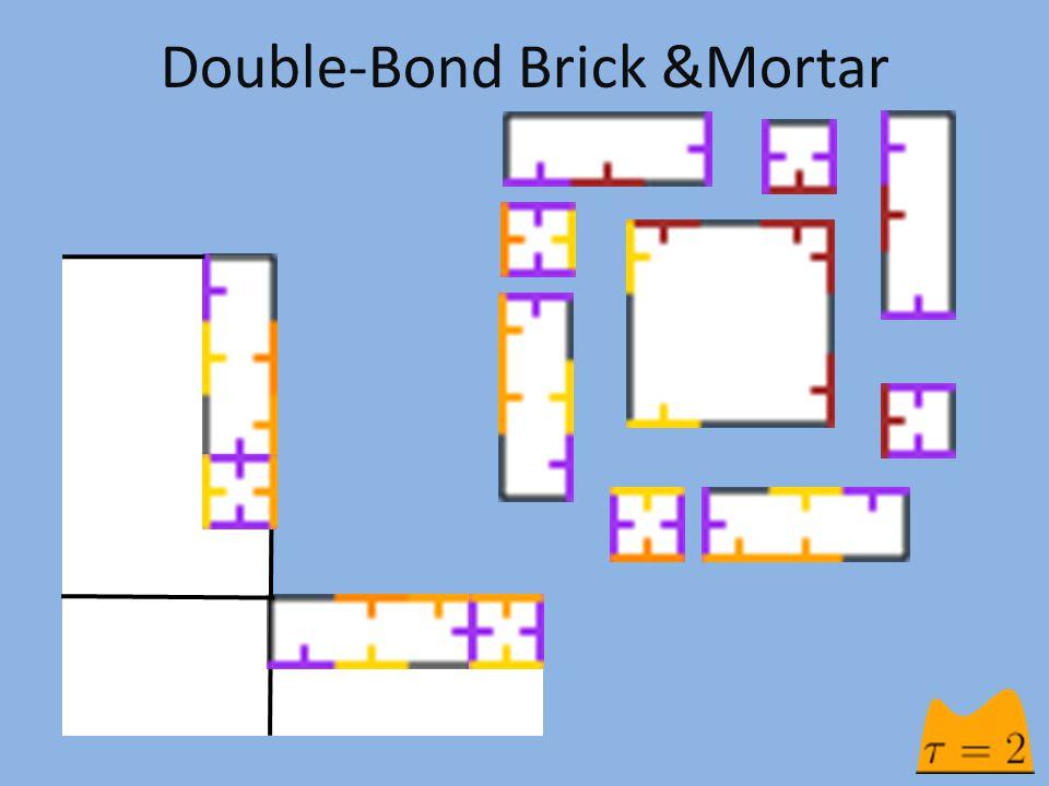 Double-Bond Brick &Mortar