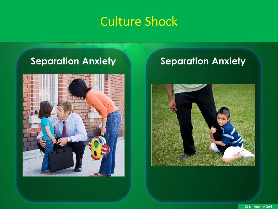 © Namrata Goel Culture Shock Separation Anxiety