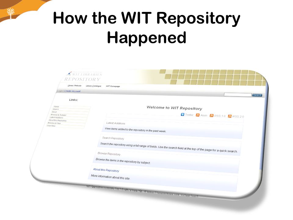 is followed by generation of keyword relationships, and then Research- Scope Repository
