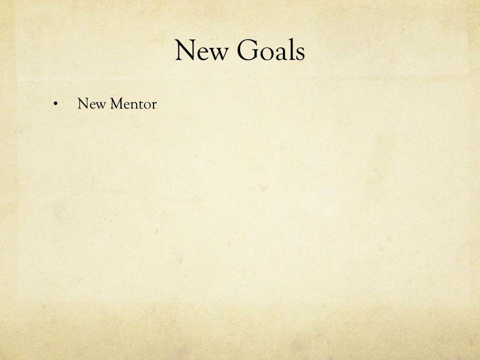 New Mentor