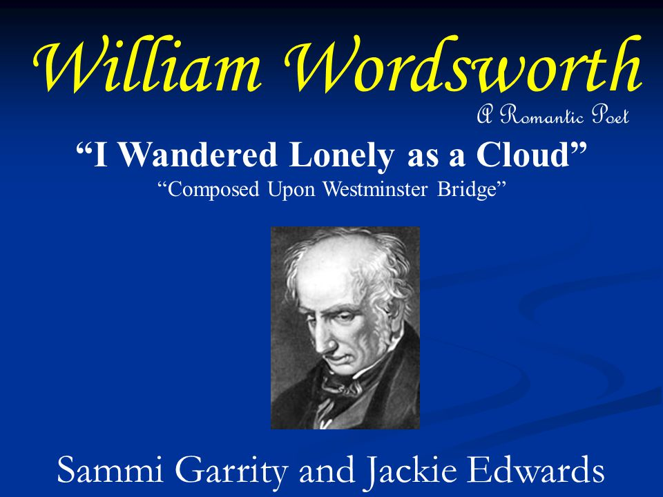 critical essays on wordsworth Childhood, william wordsworth asserts that there is a spirit that inspires creativity and transcends our mortal existence on earth and that this spirit is evident in childhood when we are in a state of innocence and that later, as adults.
