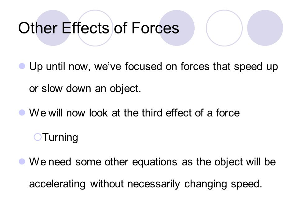 Chapter 5: Dynamics of Uniform Circular Motion Section 3: Centripetal Force