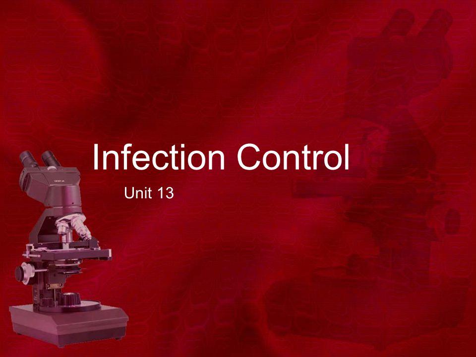 Infection Control Unit 13