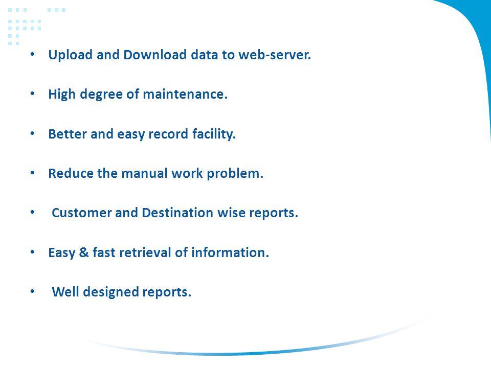 Modules Multi User System.Client Details. Destination Details.