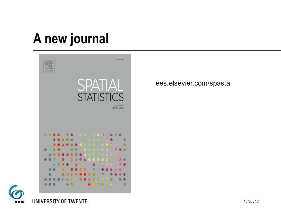 A new journal ees.elsevier.com\spasta 13Nov12