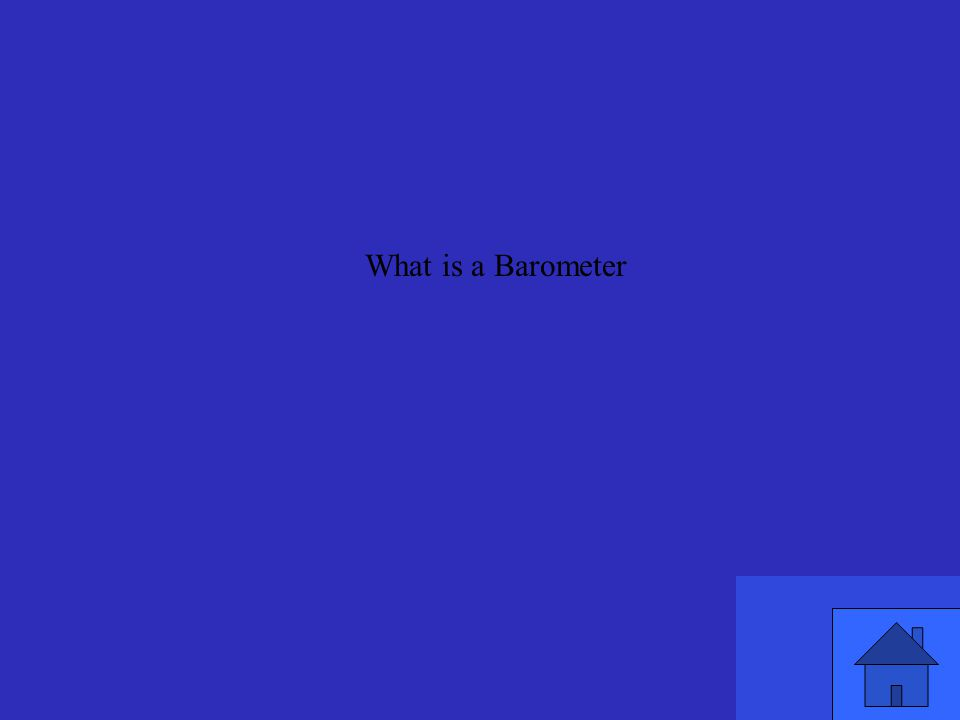 What is a Barometer