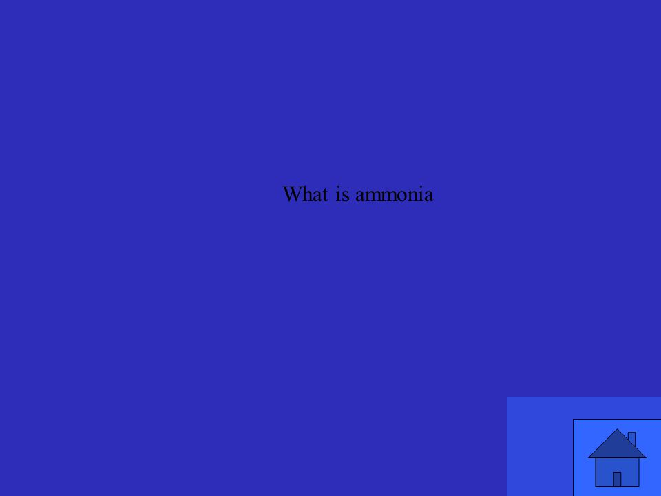 What is ammonia